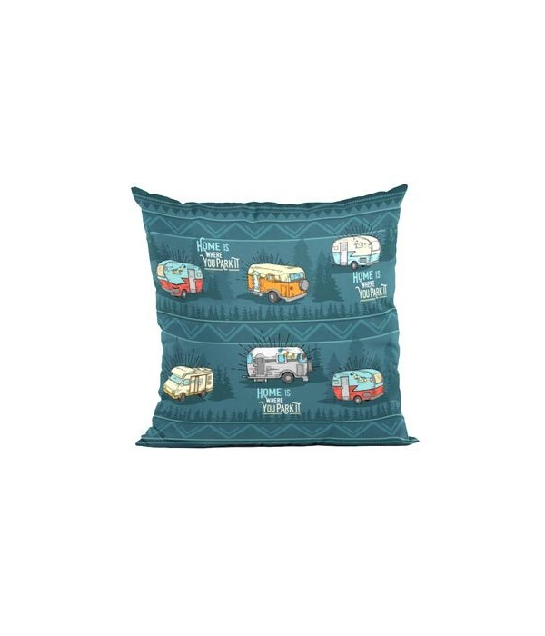 HOME PARK IT THROW PILLOW 18 in.