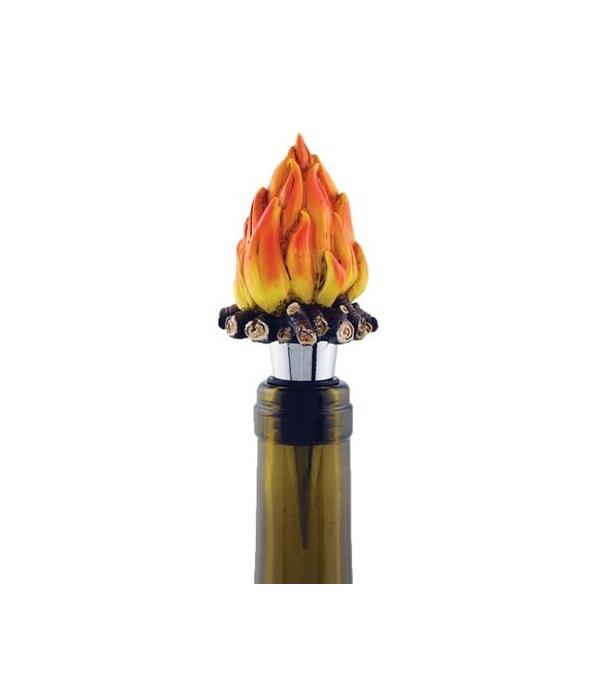 WINE STOPPER FIRE  2 in. x 2 in. x 4.5 in.