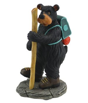 WILLIE BEAR HIKER IN BOOTS 5.3 in.