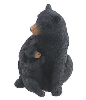 BLACK BEAR MOM/CUB BEAR HUG