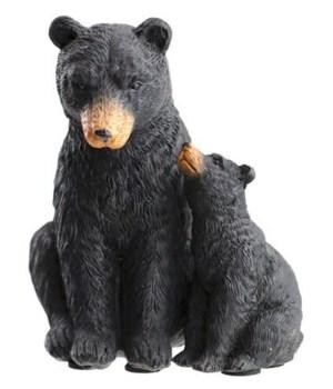 BLACK BEAR MOM/CUB FACE TO FACE