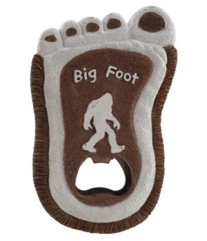 BIG FOOT BOTTLE OPENER W/ MAGNET