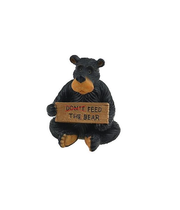 WILLIE DO NOT FEED BEAR