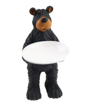 WILLIE BEAR STANDING SOAP DISH  7 in. x 5 in. x 11 in..
