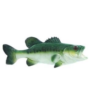 BASS FISH 11 in. GLAZED FINISH