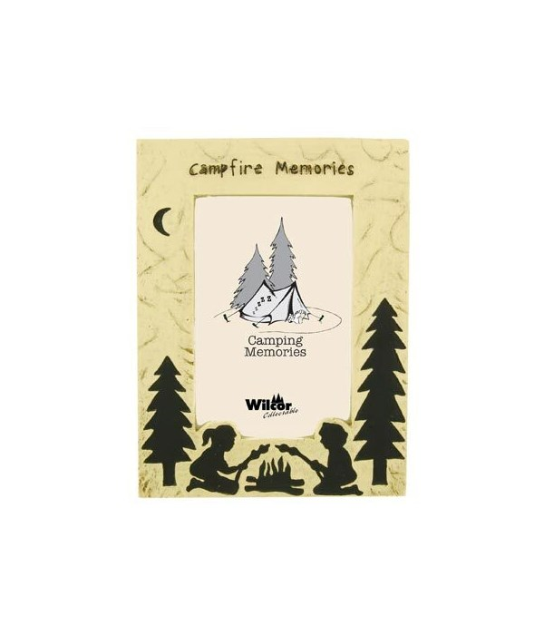 PICTURE FRAME CAMPFIRE MEMORIES 4 in. x 6 in.