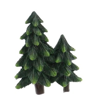 PINE TREE PAIR MAGNET 12/BX