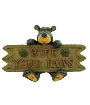 WILLIE WIPE YOUR PAWS MAGNET 12/BX 4.5 in. x 3 in.