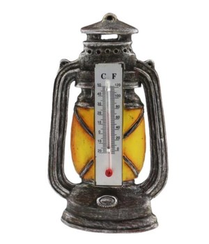 LANTERN MAGNET W/ THERMOMETER 12/BX  4.5 in.x3.5 in..