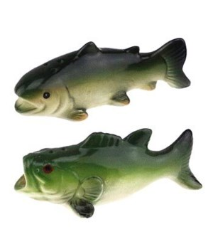 FISH S&P SHAKERS 4 in.x1.5 in.x1.5 in.