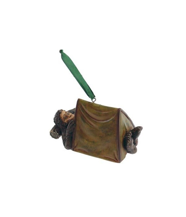 BIG FOOT TENT ORNAMENT 6/BX 3.5 in.x2 in.x2 in.