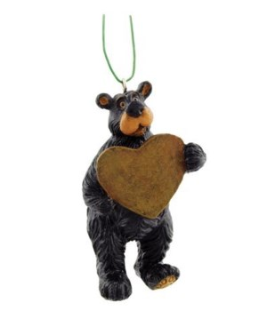 ORNAMENT WILLIE BEAR WRITABLE 12/BX 2 in.x2 in.x3.5 in.