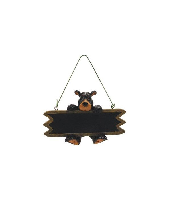 WILLIE SIGN WRITABLE ORNAMENT 12/BX 4.5 in.x1.5 in.