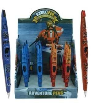 KAYAK PENS ASST 12/DS