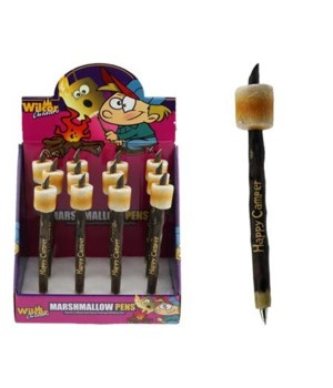 MARSHMALLOW HAPPY CAMP PENS 12/DS
