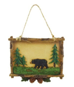 MINI SIGN BEAR 6/BX 4 in. x 3.25 in.