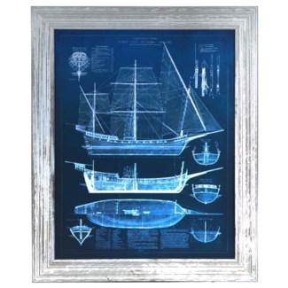 ANTIQUE SHIP BLUEPRINTS 1