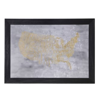 VISA MAP-GOIL FOIL