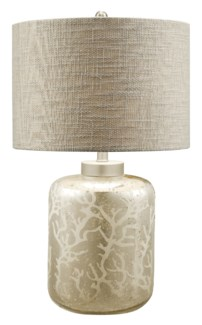 Crystal Coral Table Lamp