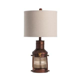 Copper Lantern Table Lamp