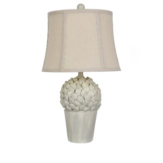Potted Artichoke Table Lamp