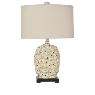 Fossilized Shell Table Lamp