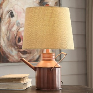 Watering Can Table Lamp