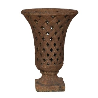Woven Basket Vase