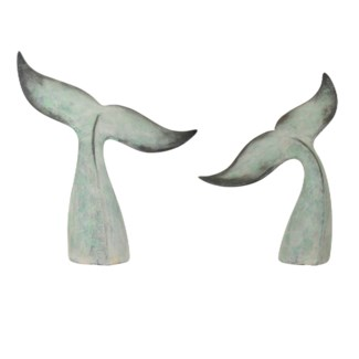 Whale Tail Statues