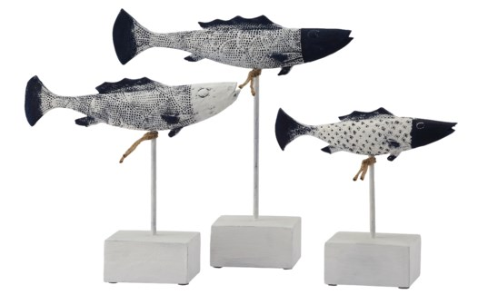 Antique Fish Statues