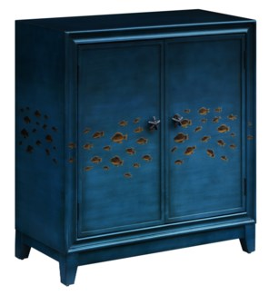 Gulf Breeze Gradient Blue 2 Door Goldfish Cabinet