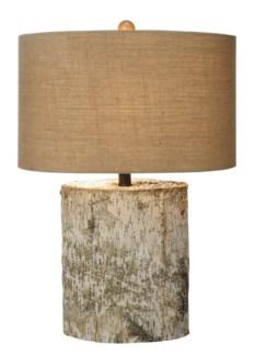 Birch Wood Table Lamp