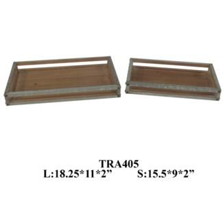 Rustic Trays