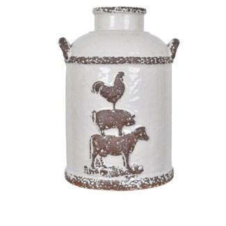 Small Farm House Churn Jar