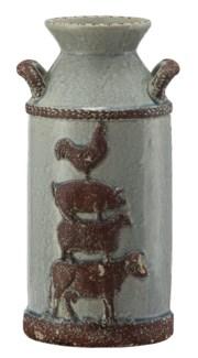 Large Farm House Churn Jar