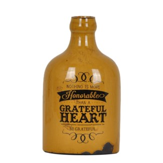 Greatful Heart Vase