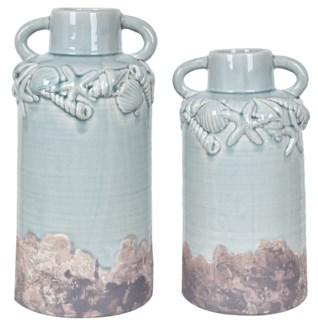 Sea Shell Vases