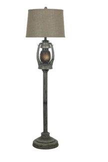 Oil Lantern Floor Lamp
