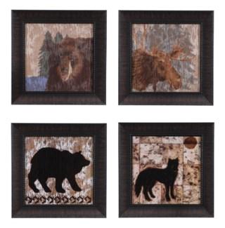 WOLF,WILDERNESS BEAR,LODGE MOOSE, LODGE BEAR