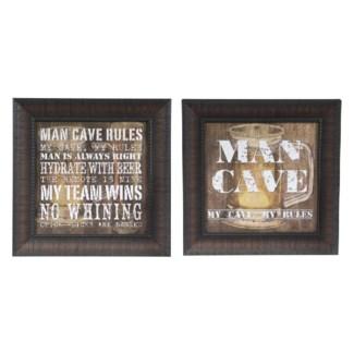 """MAN CAVE RULES / MAN CAVE 1"""