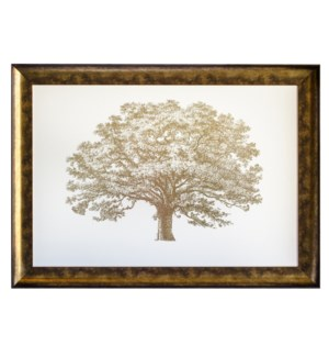 """GOLD FOIL ELEPHANT TREE"""