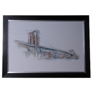 CUSTOM WATERCOLOR BRIDGE SKETCH 2