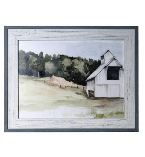 WATERCOLOR BARN 3