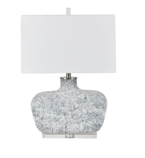 Bauer Blown Glass Table Lamp
