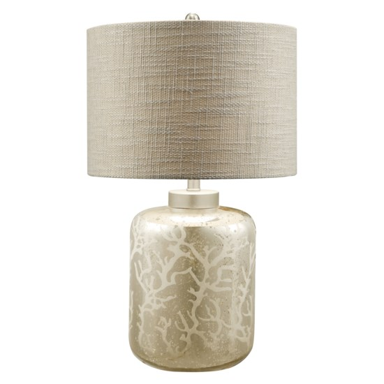 Crestview Collection Crystal Coral Table Lamp