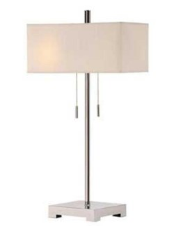 Orlo Twin Light Table Lamp