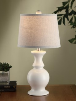 Sand Dune Off White Table Lamp