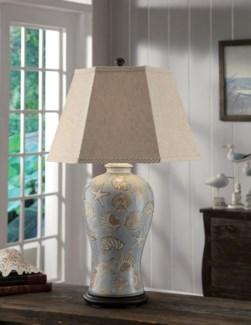 "Seashell Table Lamp 32""Ht"
