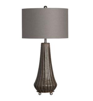 """29.25""""H CERAMIC TABLE LAMP  2PCS UPS PACK 4.2'"""