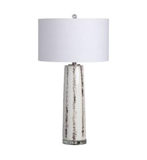 """31""""H CERAMIC TABLE LAMP 2PCS UPS PACK 5.1'"""